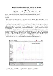 Vícesekční elektrické polarizované drenáže - ATEKO s.r.o.