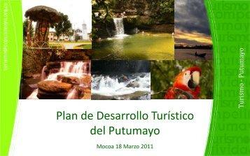presentacion plan desarrollo turistico ptyo - Cámara de Comercio de ...
