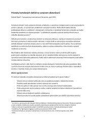Príznaky kartelových dohôd vo verejnom obstarávaní
