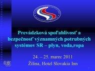 J. Klepáč, SPNZ - Slovenský plynárenský a naftový zväz
