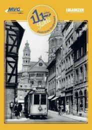 111 Jahre Elektrische Straßenbahn