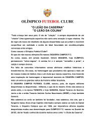 olímpico futebol clube