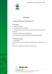 Liga de Desenvolvimento de Basquete – 2012 1 ... - NBB
