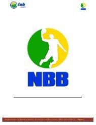 LIGA NACIONAL DE BASQUETE 2009 - NBB