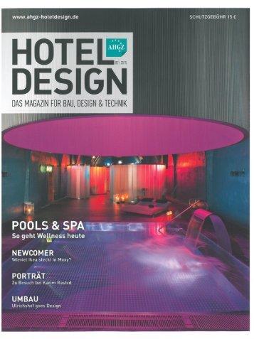 Kamea Grand Zürich Hotel Design