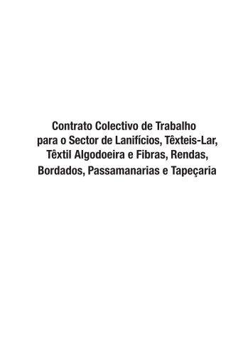 Contrato Colectivo de Trabalho para o Sector de Lanifícios ... - Fesete