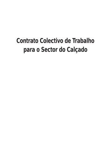 Contrato Colectivo de Trabalho para o Sector do Calçado - Fesete