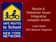 Complete Streets - New York State Association of Metropolitan ...