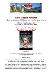 WoW Spazio Fumetto - Studio De Angelis
