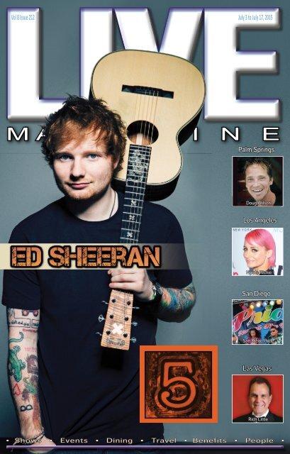 LIVE Magazine Issue #212, July 3, 2015
