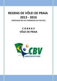 REGRAS DE VÔLEI DE PRAIA - FPV