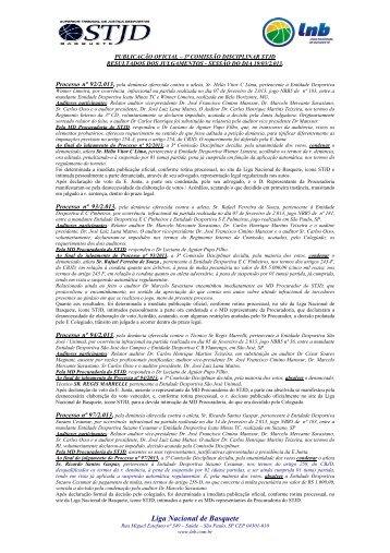 20/03/2013 Publicação Oficial