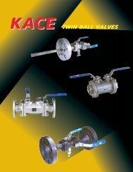 TWIN BALL VALVES - KACE Valves