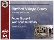 Workshop Summary Presentation - Indianapolis Metropolitan ...