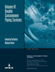 Double Containment Piping Systems - JO Galloup Company