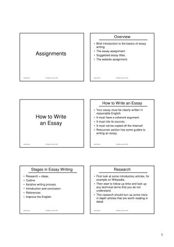 essay writing structure and organisation presentation my  assignments how to write an essay computer applications in