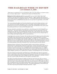 Week in Review, November 13, 2009 - The Blanchard Company