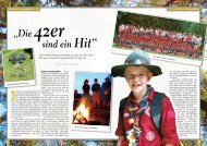 """""""Die 42er sind ein Hit"""" - Pfadfindergruppe Wien 42"""