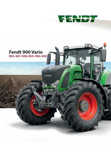 Den nye Fendt 900 Vario. Chefen.
