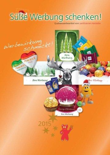 HappyTrading - Winterkatalog 2015 für Süsses
