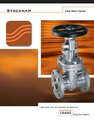 Stockham Cast Steel Valves - Associated Valve