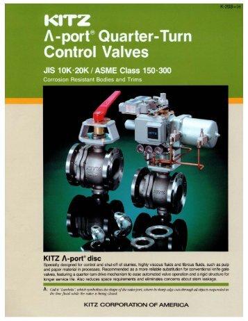 Energyprocess ktm associated valve v port quarter turn control valves associated valve ccuart Gallery