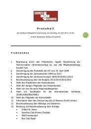 Protokoll DV 2013 neu - SwissBoxing