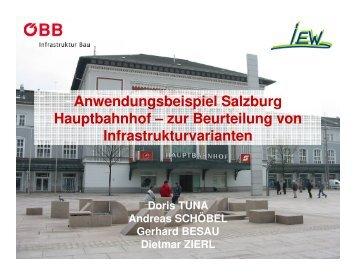Anwendungsbeispiel Salzburg Hauptbahnhof – zur ... - OpenTrack