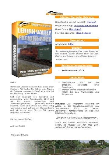 Herunterladen - Trains and Drivers