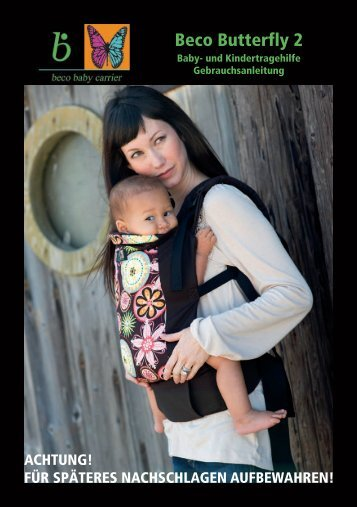 Beco Butterfly 2 - Baby-Carrier-Shop.de