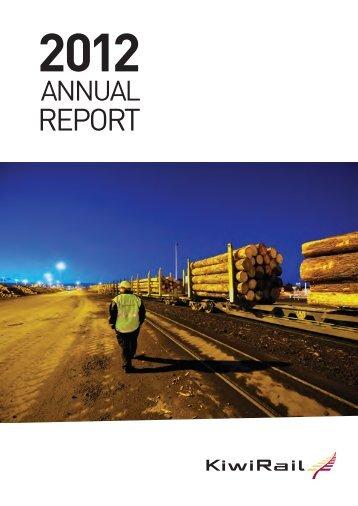 Annual report 2011-2012 - KiwiRail