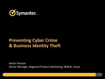 Preventing Cyber Crime and Business Theft by ... - City of Lakewood