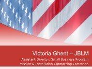 Victoria Ghent – JBLM - City of Lakewood