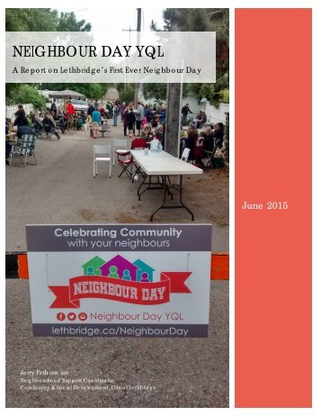Neighbour Day Report