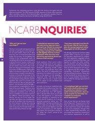 NCARB Nquiries