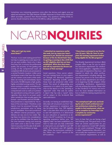 Sap status for Ncarb