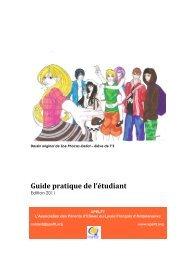 Guide de l'étudiant - FAPEE