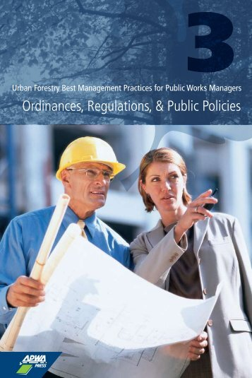 Ordinances, Regulations, & Public Policies - American Public Works ...