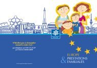 Europe et Prestations familiales - Caf.fr