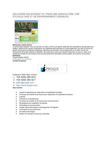 solutions holistiques tic, pour une agriculture, une sylviculture et un ...