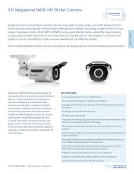 3.0 Megapixel WDR HD Bullet Camera