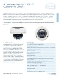 5.0 Megapixel Day/Night H.264 HD Outdoor Dome Camera