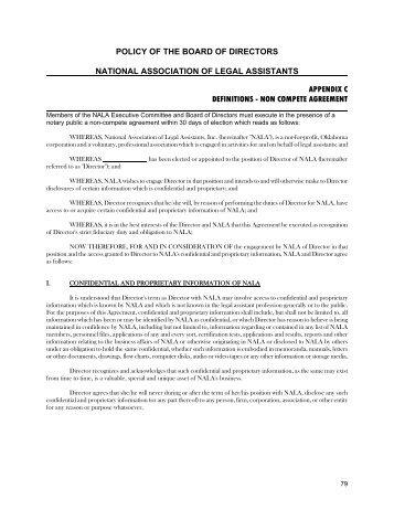Legal Assistants