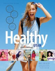 Magazine Media Kit - ABC4 Healthy Utah