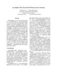 An Adaptive MAC Protocol for Wireless Sensor ... - ResearchGate