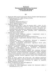 Regulamin WSO w Zespole Szkół Specjalnych - ZESPÓŁ SZKÓŁ ...