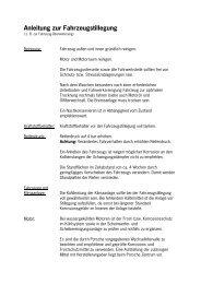 Anleitung zur Fahrzeugstillegung - Porsche