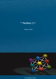 NetMan 3.7 Manual - Book 1 - H+H Software GmbH