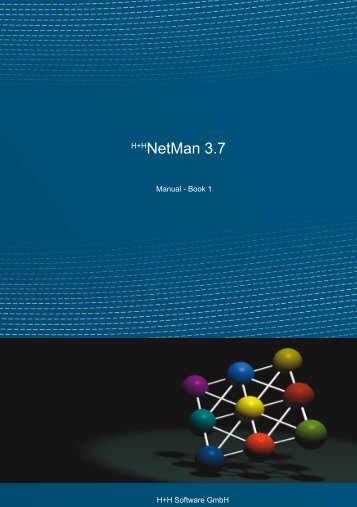NetMan 3.7 Manual - Book 1 - H+H Software GmbH