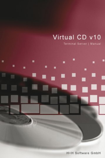 Virtual CD Terminal Server 10 - H+H Software GmbH